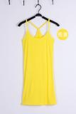Harga Y Modal Musim Semi Dan Musim Panas Memanfaatkan Rompi Tas Pinggul Gaun Y Kata Panjang Suspender Terang Kuning Original