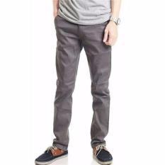 Jual Yonkers Merch Celana Chino Panjang Pria Abu Branded Original