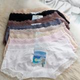 Beli Yadaili Silky Panties Celana Dalam Wanita Cooling Effect Multicolor Free Size 12Pieces Di North Sumatra