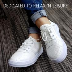 Spek Yadas Korea Mizuki Sepatu Sneakers Wanita M73 Putih Jawa Barat