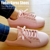 Harga Yadas Korea Sophia Sepatu Sneakers Wanita 5588 Pale Pink Terbaik
