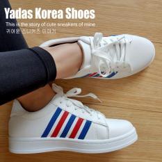 Yadas Korea Sophia Sepatu Sneakers Wanita 5588 Red Blue Jawa Barat Diskon