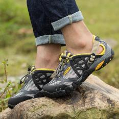 Spesifikasi Yaer Mens Sport Luar Ruangan Mesh Bernapas Hiking Sepatu Intl Intl Dan Harga