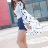 Diskon Baju Pelindung Terik Matahari Wanita Lengan 3 4 Model Setengah Panjang Aneka Warna Sifon Bagian Panjang Bulu Putih Akhir Tahun