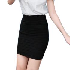 Beli Fashion Wanita Pakaian Kantor Ol Rok Rok Pensil Hitam Ybc Internasional Online Murah