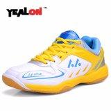 Spesifikasi Yealon Bulutangkis Sepatu Untuk Pria Sepatu Pria Bulutangkis Pelatihan Keras Anti Licin Light Sneakers Sport Cushion Intl Paling Bagus
