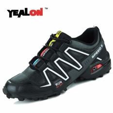 YEALON Mens Olahraga Menjalankan Sepatu Kecepatan Cross Country Outdoor Sepatu Sneakers 39-45-Intl
