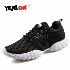 Yealon Pria Olahraga Sepatu Sneakers Pria Super Ringan Atletik Lari Olahraga Sepatu Latihan They Her Luar Ruangan Krasovki Pria Sneaker -Internasional