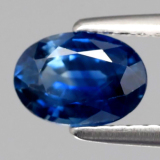 Yenzshop Sp102 Certified 90Ct 7X5Mm Oval Natural Standard Heated Royal Blue Sapphire North Sumatra Diskon 50