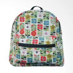 Yeye Bags YOU RSM 02 Flower Tas Ransel Backpack - Hijau