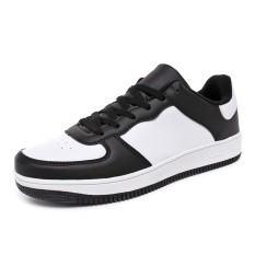 Yf Pria Dan Wanita Bernapas Sneakers Nyaman Air Force 1 Gaya Pasangan Rekreasi Sepatu Flats Board Sepatu Plus Ukuran 35 46 Intl Oem Diskon 30