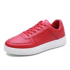 Harga Yf Pria Bernapas Sneakers Nyaman Air Force 1 Gaya Rekreasi Sepatu Flats Board Sepatu Intl Asli