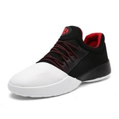 Toko Yf Pria Bernapas Sneakers Kulit Yang Nyaman Rekreasi Sepatu Intl Online Terpercaya