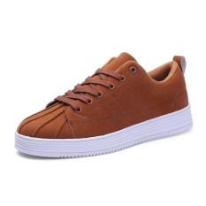 Harga Yf Pria Bernapas Sneakers Nyaman Shell Head Superstar Rekreasi Sepatu Flats Board Sepatu Intl Origin
