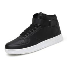 Yf Pria Tinggi Upper Bernapas Sneakers Nyaman Air Force 1 Gaya Rekreasi Sepatu Flats Board Sepatu Intl Tiongkok Diskon 50