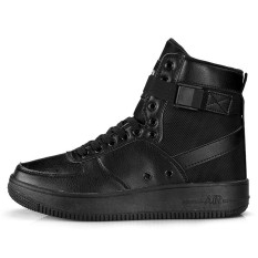 Jual Beli Yf Pria Tinggi Upper Bernapas Sneakers Nyaman Air Force 1 Gaya Rekreasi Sepatu Flats Board Sepatu Intl Baru Tiongkok