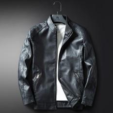 Harga Termurah Yf Jaket Kasual Pria Fashion Kulit Jaket Plus Ukuran M 3Xl Intl