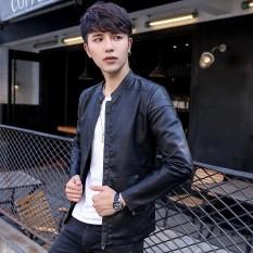 Yf Jaket Kasual Pria Fashion Kulit Jaket Ukuran M 3Xl Intl Promo Beli 1 Gratis 1