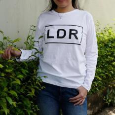 YGTSHIRT - Tshirt LDR Lengan Panjang Longsleeve Cewek / Kaos Wanita / Tshirt Cewe Cotton Combed Kaos Cewek