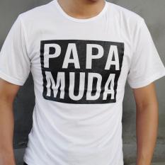 YGTSHIRT - Tshirt PAPA MUDA MEN Cowok / Kaos Pria / Tshirt Cowo Cotton Combed Kaos Oblong / Trendin