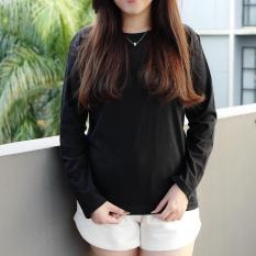 TUMBLR TEE - Tshirt Polos Lengan Panjang Longsleeve Cewek / Kaos Wanita / Tshirt Cewe Cotton Combed