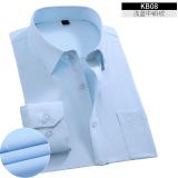 Promo Yi Wen Kemeja Putih Pria Lengan Panjang Kemeja Korea Fashion Style Slim Kb08 Biru Muda Baju Atasan Kaos Pria Kemeja Pria Akhir Tahun