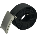 Toko Yika Mens Unisex Plain Webbing Kanvas Cotton Belt Fit 32 54 Inch Buckle Ladies Army Intl Online Di Tiongkok