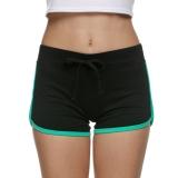 Jual Yika Wanita Sport Drawstring Slim Celana Mini Black Green Intl Baru