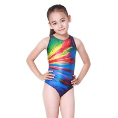 Yingfa pribadi digital printing profesional kebugaran wanita siam berenang baju renang anak baju renang (Warna)
