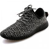 Harga Yinglunqishi Pria Mesh Sport Sepatu Lari Sneaker Sepatu Hitam Yang Bagus