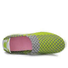Dimana Beli Yinglunqishi Wanita Pantofel Fashion Wedge Sneakers Hijau Jc 014 Yinglunqishi