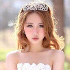 Top 10 Yingwei Baru Elegan Mewah Crown Pernikahan Bride Crystal Headband Rambut Band Aksesoris 3 Intl Online