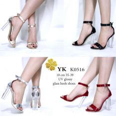 YKshoes 0516 high heels 10cm hak gemuk