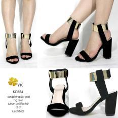 YKshoes 0554 high heels 10cm hak gemuk big heels