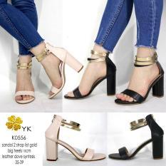 YKshoes 0556 high heels 10cm hak gemuk