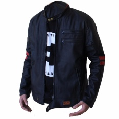 Ynkers Merch Jaket Kulit X-Men Hitam