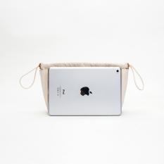Yonben katun kanvas menyelesaikan kosmetik tas dalam tas (Menghasilkan warna besar)IDR209800. Rp 221.900
