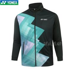 Yonex Baju Bulutangkis Jas 150067 Yonex Pria atau Wanita Produk Asli (Laki-laki 150067 Hijau Gelap)
