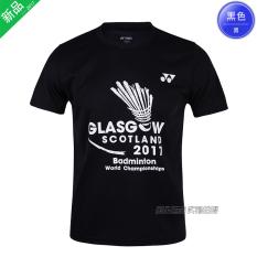 Jual Yonex Cepat Kering Bernapas Lin Dan Produk Asli Baju Bulutangkis Model Laki Laki 6035 Hitam Kejuaraan Dunia Online