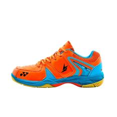 Review Pada Yonex Badminton Shoes Srcr 40Ld Orange Blue