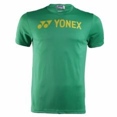 Yonex Baju Round Neck T-Shirt Logo - RM-S092-784-178RN-16-S - Green