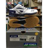 Beli Yonex Court Ace Tough Sepatu Badminton White Navy Black Online Terpercaya
