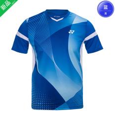 Review Terbaik Yonex Pria Dan Wanita Club Baju Seragam Tim Baju Bulutangkis Model Laki Laki 110157 Biru