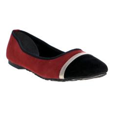 Spek Yongki Komaladi Ols 813 Flat Shoes Maroon