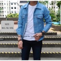 Yonkers Merch Jaket Jeans Denim Mens - Bioblitz