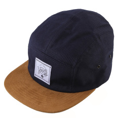 Promo Yoods Goods Five Pannel Hats Caps Biru Navy Banten