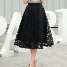 Berapa Harga Yoona Flare Skirt R602 Rok Midi Rok Maxi Rok Panjang Di Jawa Barat