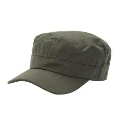 Yoouino Dayy® Outdoor Breathable Military Cap Flat Top Light Board Cap Tabir Surya, Satu Ukuran-Intl