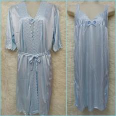 Harga You Ve Kimono Baju Tidur Sleepwear K69 Biru Muda Yang Murah