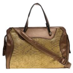 Diskon You Ve Top Handle Bag 2118 Gold Tas Tangan Wanita Branded